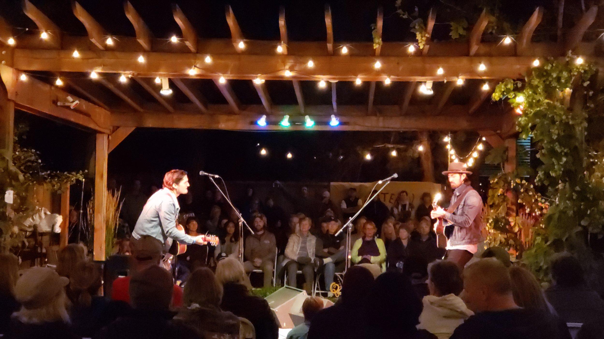 Saturday Night show with The Talbott Brothers, Folk Festival 2018