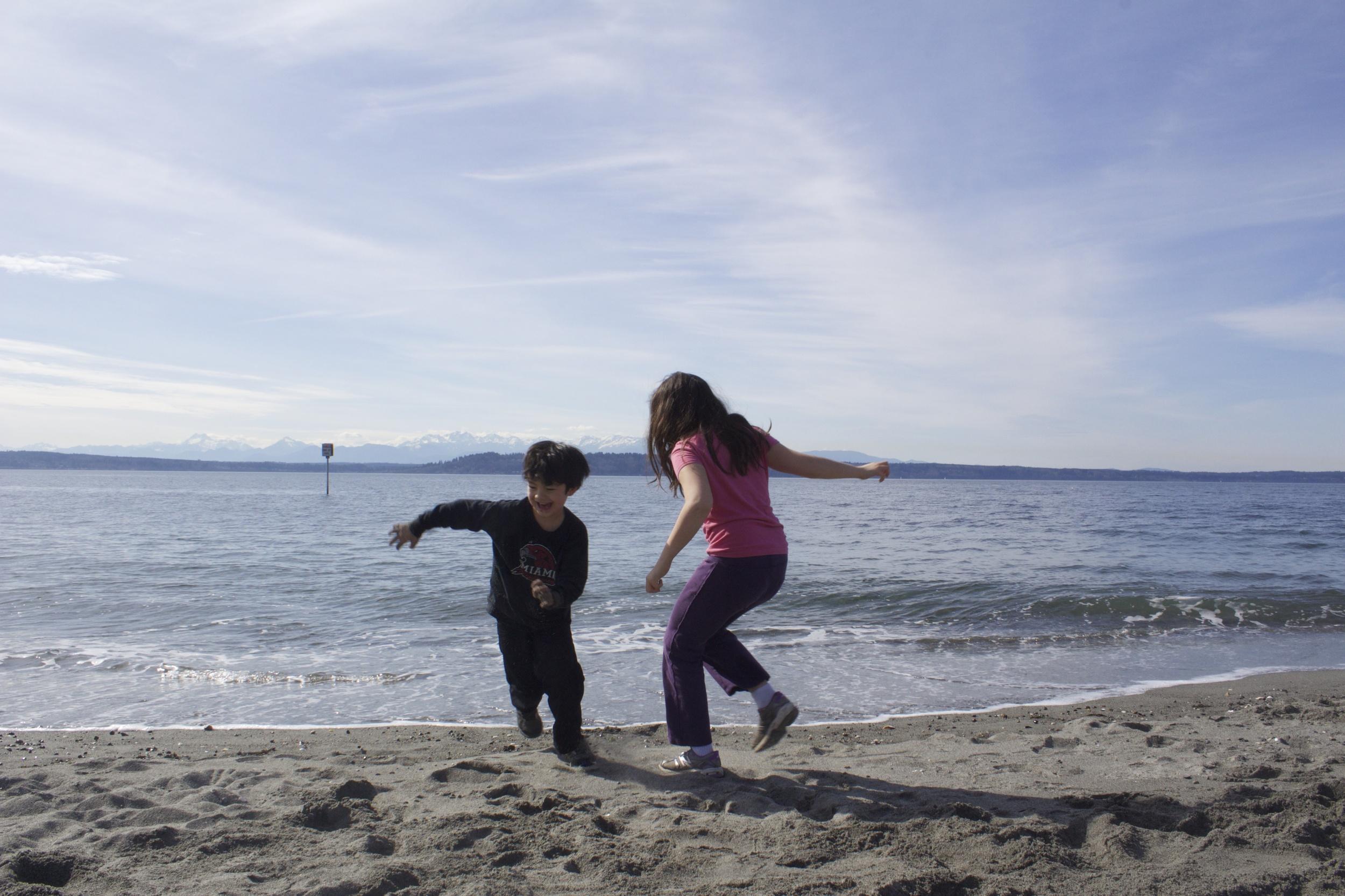 Spring Beach Day