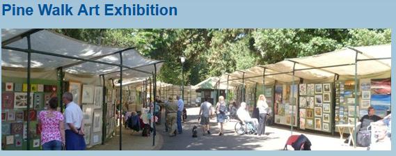 Bournemouth Pinewalk Exhibition