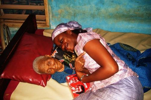 With my Grandma a few days before my wedding in 2008
