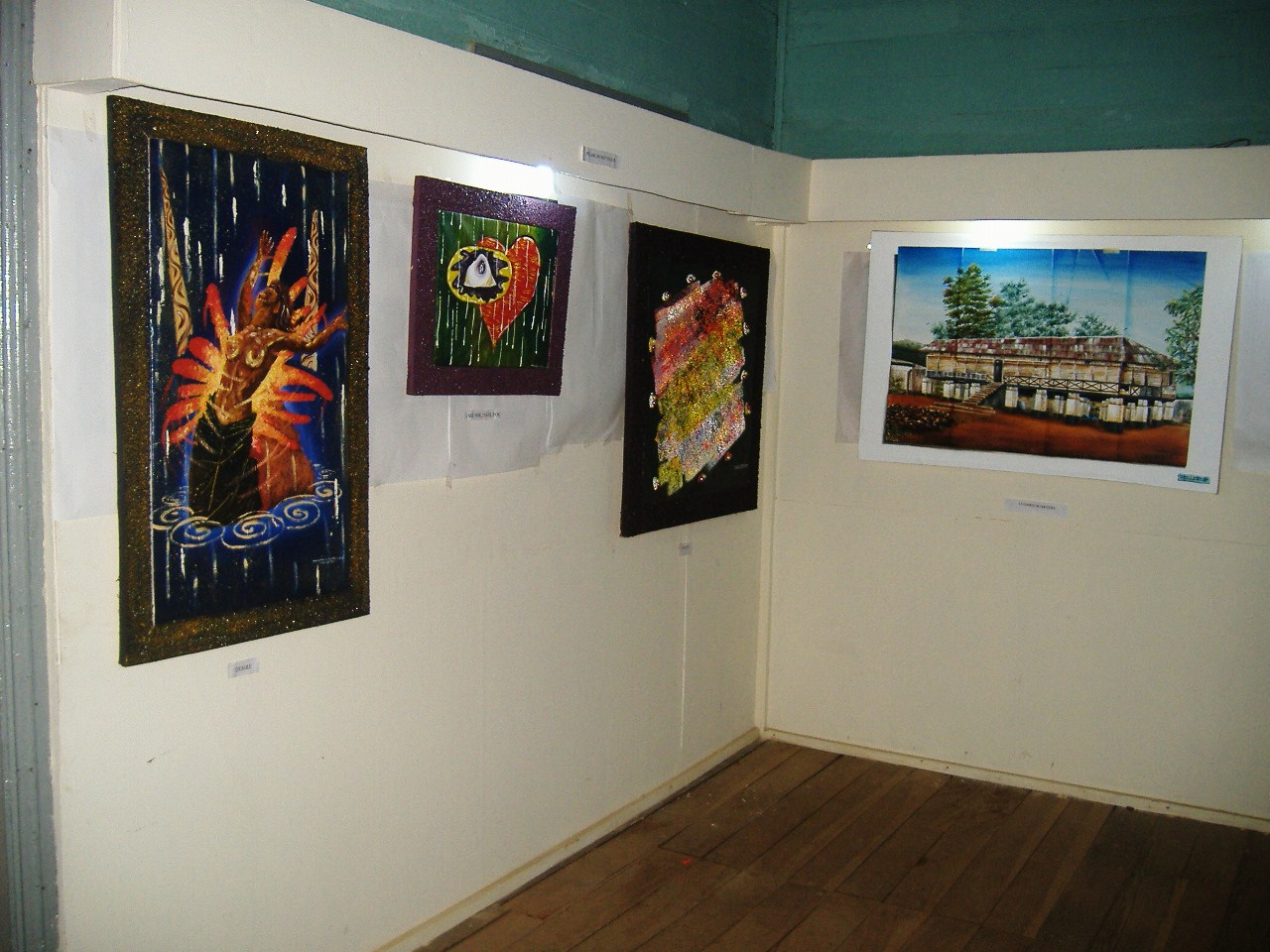 A Cross Section Of Artworks On Display