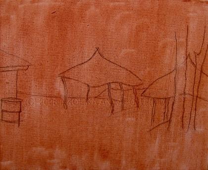 Oil painting techniques by Nkolika Anyabolu