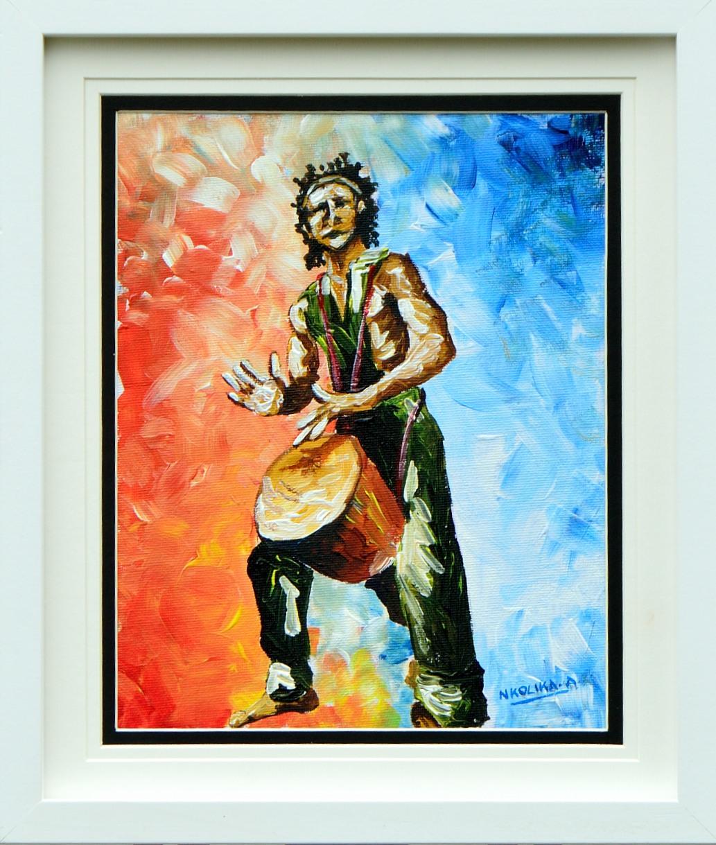 African Drummer by Nkolika Anyabolu