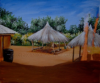 How To Paint a Village by Nkolika Anyabolu