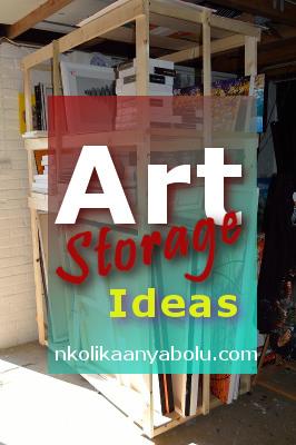 Art Storage Ideas by Nkolika Anyabolu