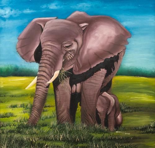 Elephant by Nkolika Anyabolu