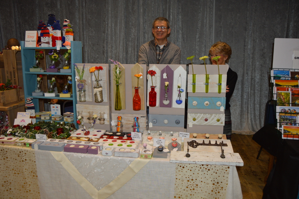 Tipana Crafts at Etsy Made Local Christmas Fair
