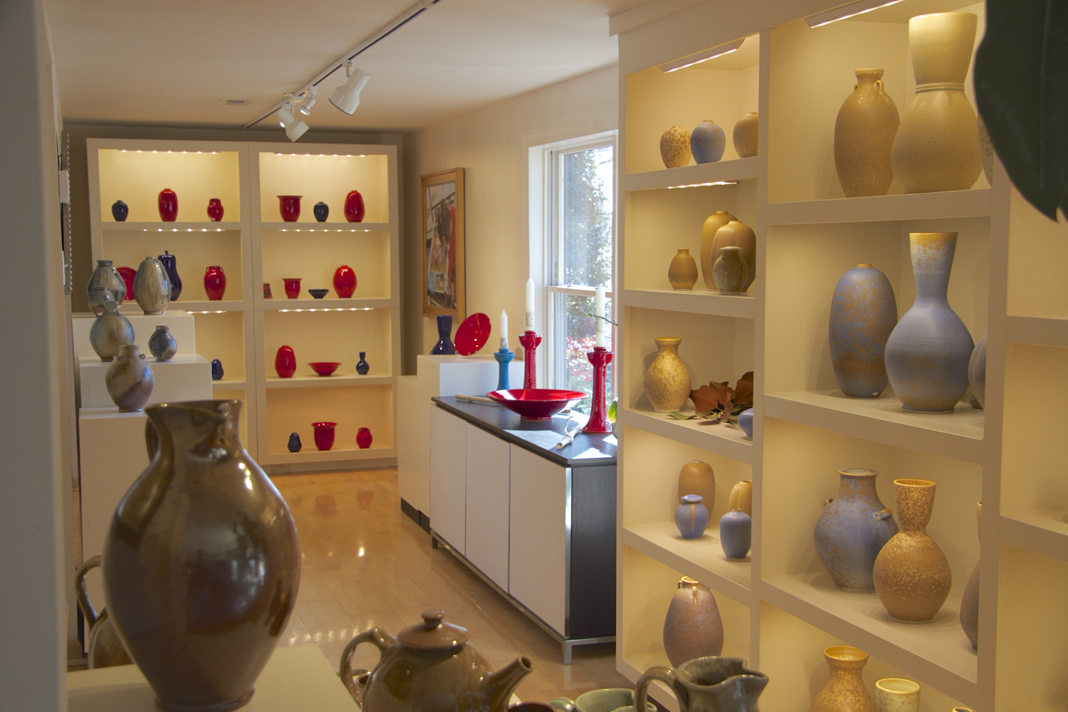 Showroom Display at Ben Owen Pottery.jpg