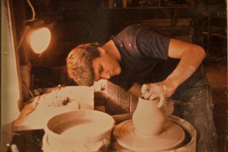 Young Ben Owen III at the Potters Wheel.jpg