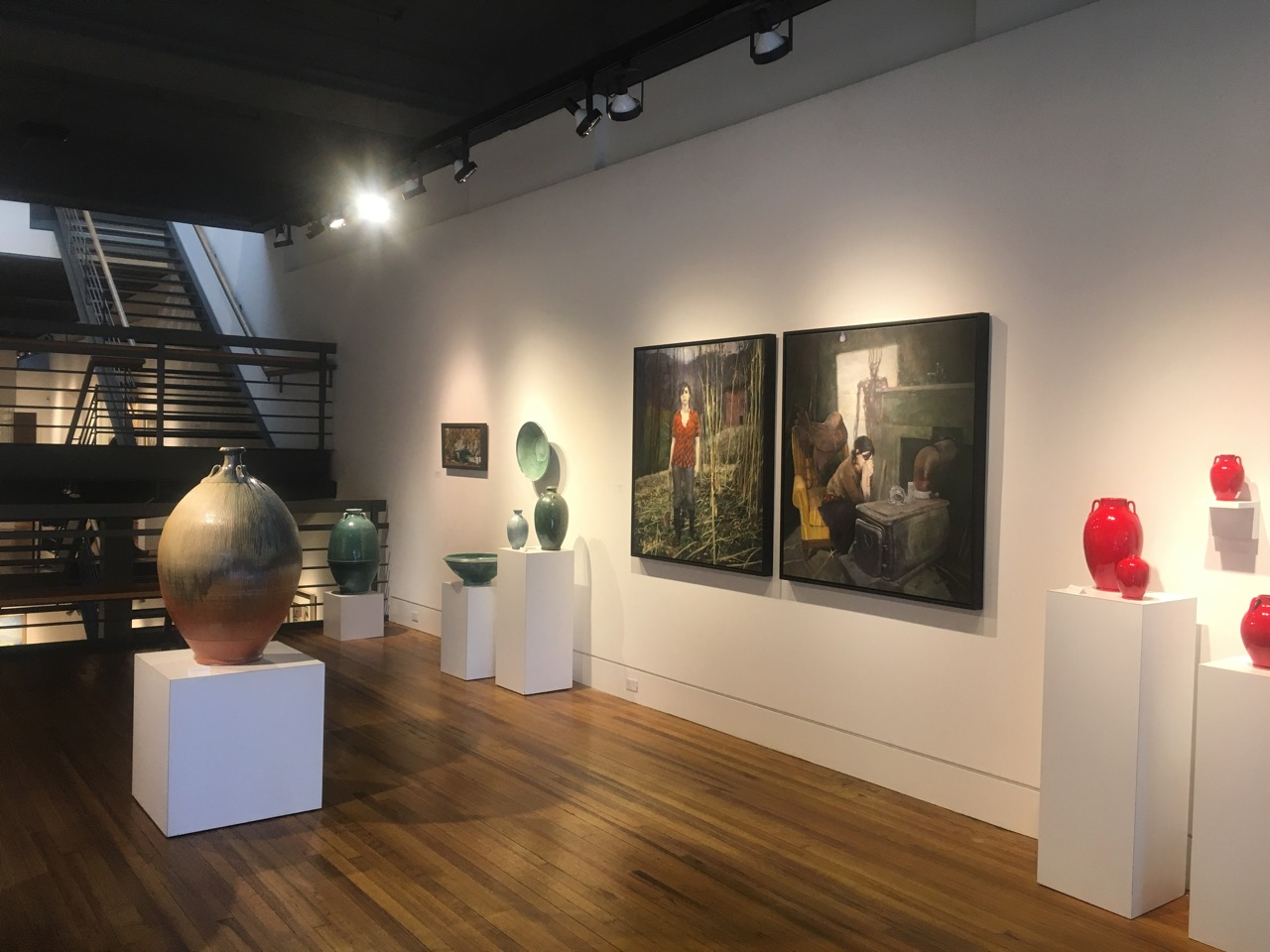 Exhibition at Blue Spiral 1 Gallery Summer 2018 in Asheville, NC