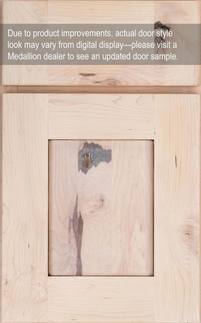 Sonoma Flat Panel Rustic Maple Champagne