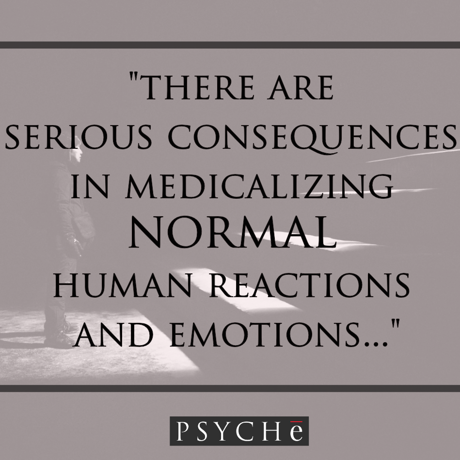 Want more info? Click the photo for an article on PTSD versus experiencing trauma.