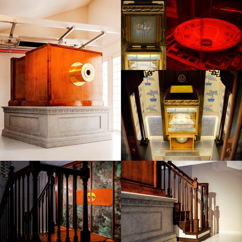 Giroux Daguerreotype Camera Yugo Ito ジルーダゲレオタイプ型暗室カメラ