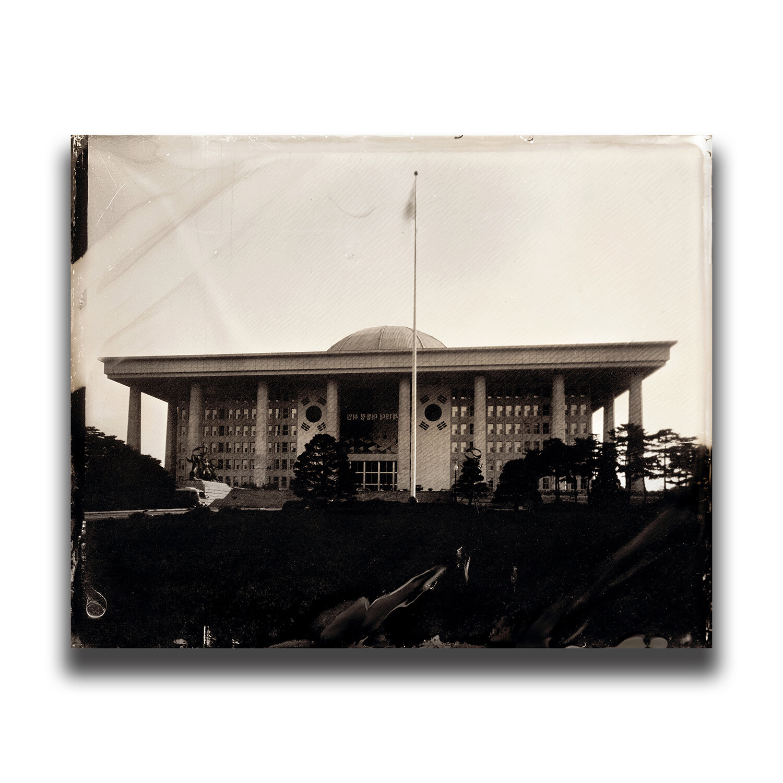 The next day of the 19th South Korean presidential election・Korea National Assembly Proceeding Hall/2017年大韓民国大統領選挙 翌日 国会議事堂/대한민국 제19대 대통령 선거 다음날 국회의사당/2017年大韓民國總統選舉 次日 國會議事堂