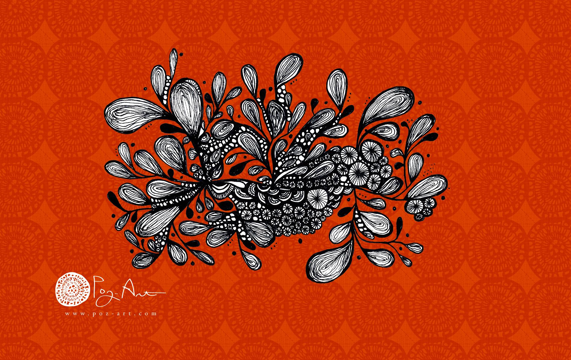 Wild-Leaves_Wallpaper_Poz-Art