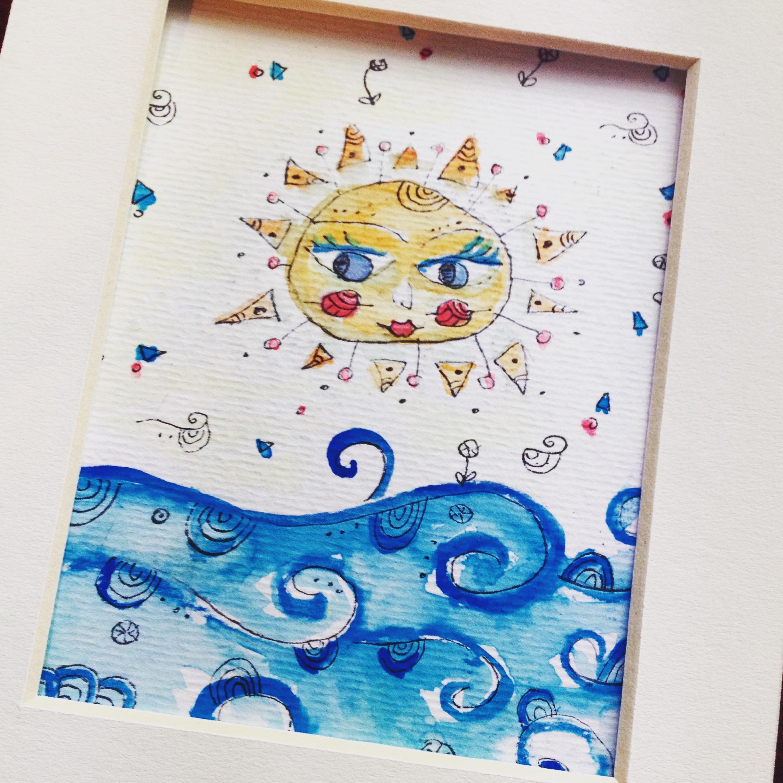 Poz-Art Sun Image