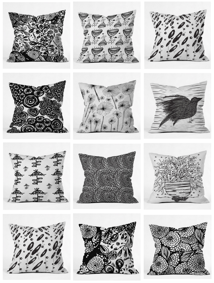 Poz-Art Pillows