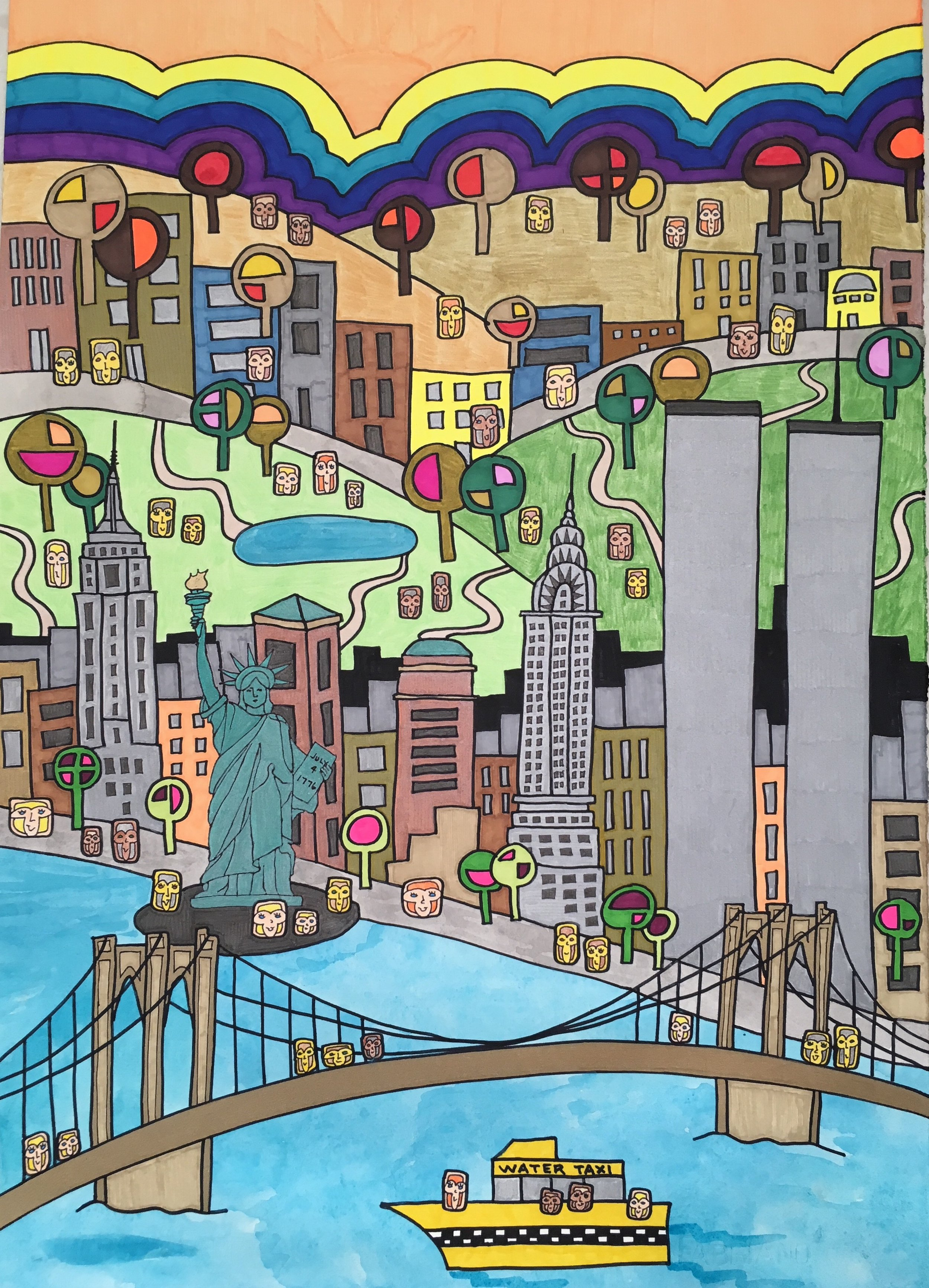 """""""There's Only One"""" -New York through Jenny's eyes. Can you see the jungle in the city?"""