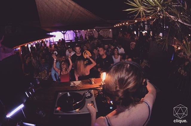 """#tbt to Clique XXV edition at """"The Hole In The Wall"""" great times!  #vinylonly"""