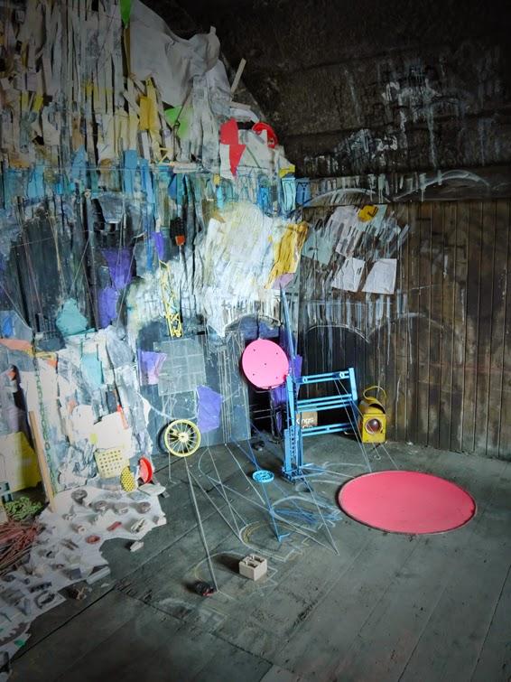 Spadework Vault 5 Installation Hidden Door  2014 .jpg