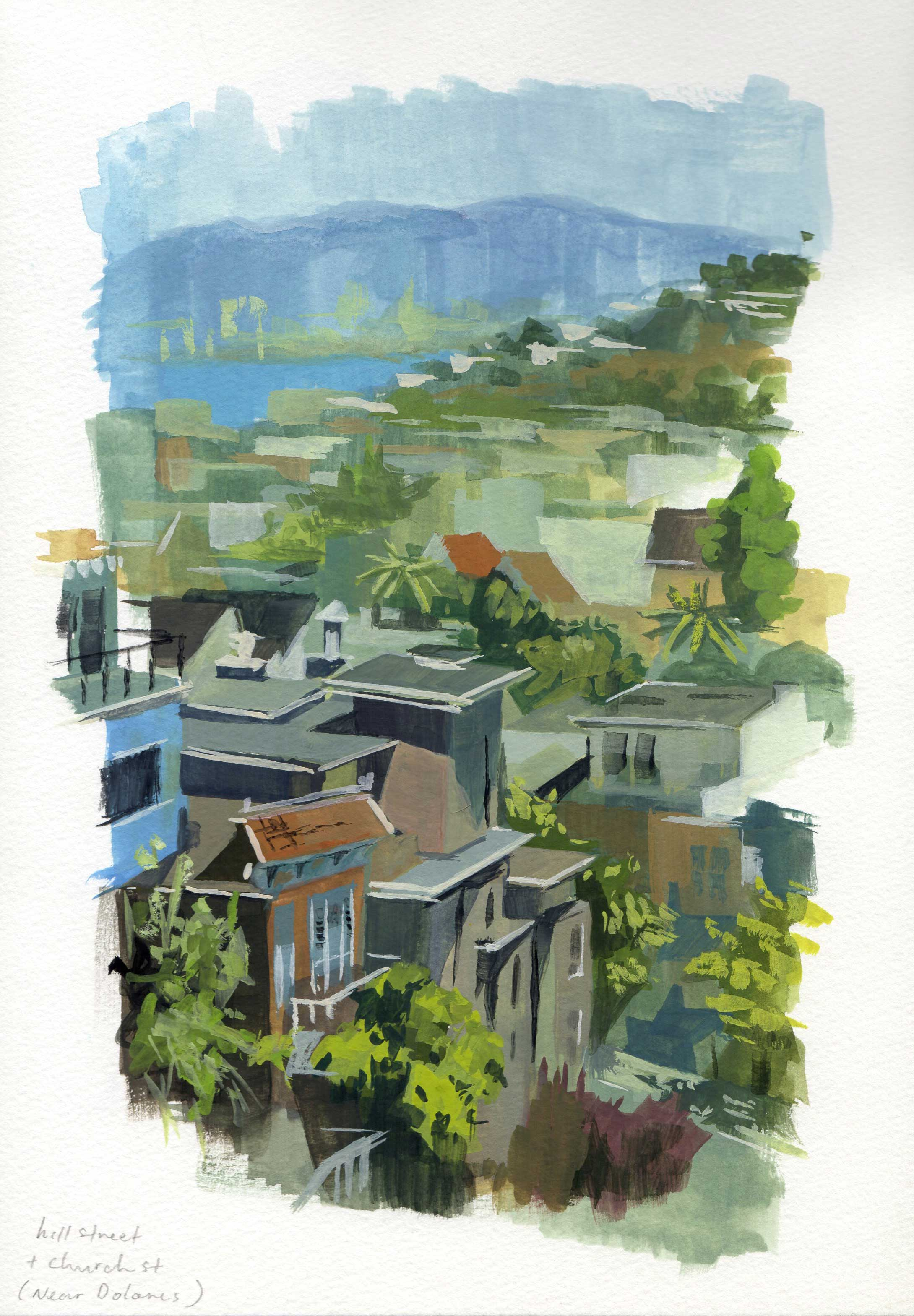 San Francisco, Priscilla Tey, Illustration Art