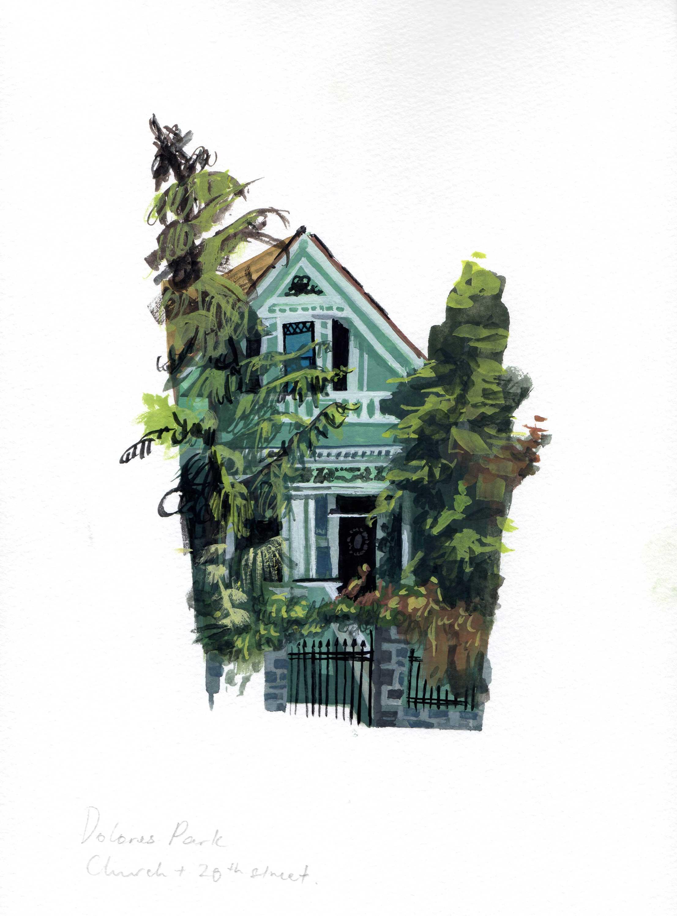 San Francisco, Priscilla Tey Illustration Art