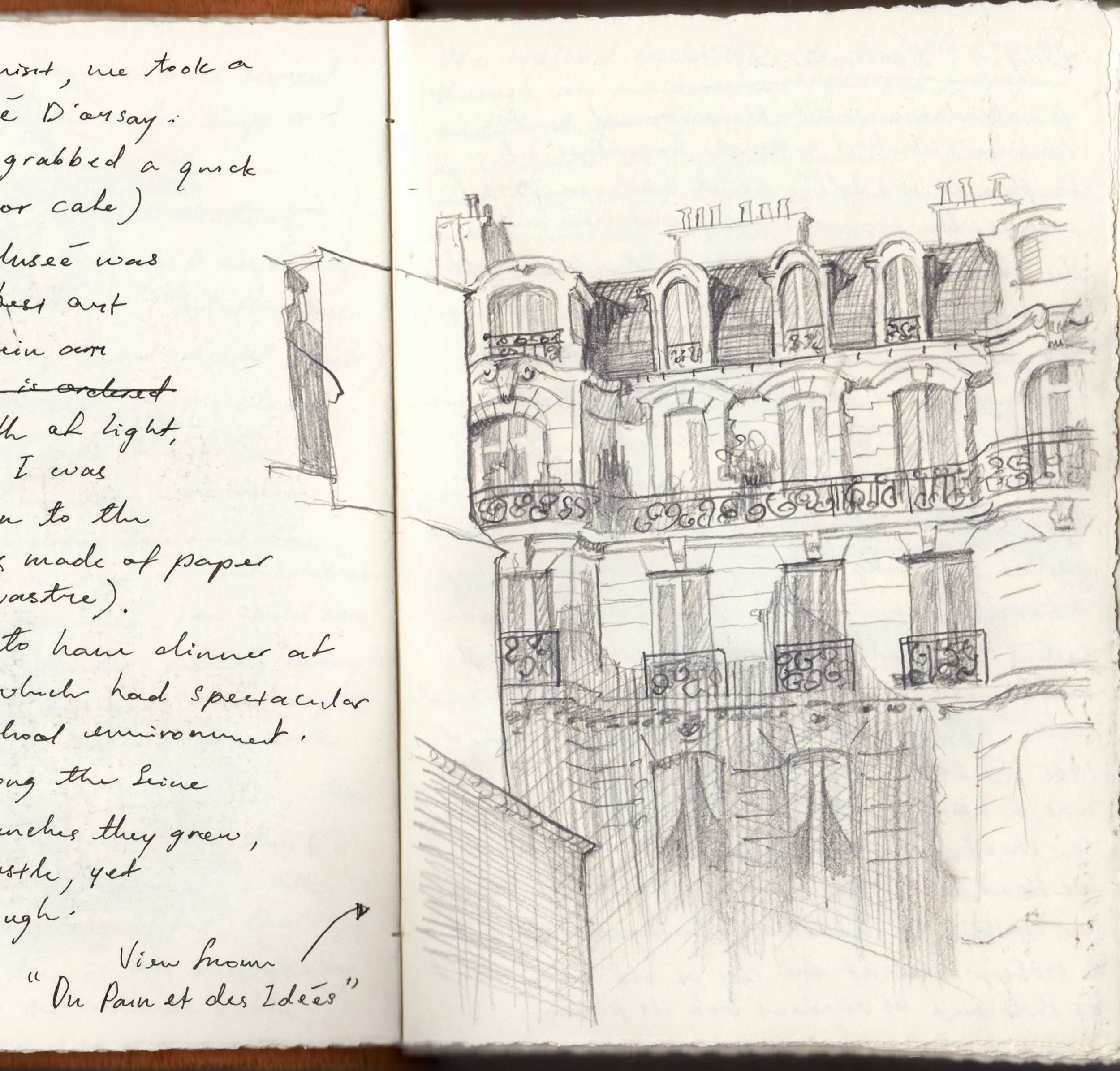 Paris Sketchbook, Priscilla Tey, Illustration Art