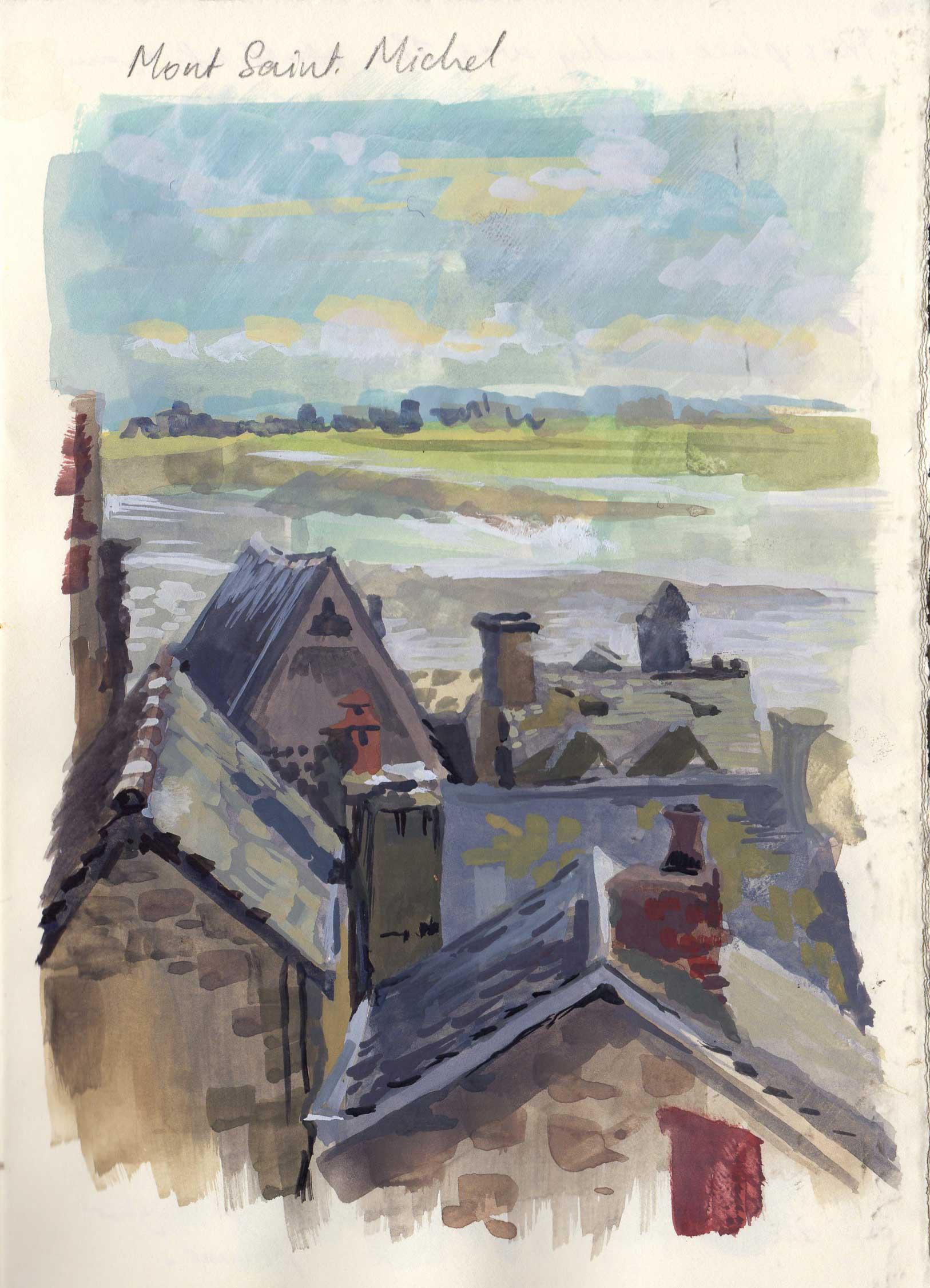 France Sketchbook, Priscilla Tey, Illustration Art