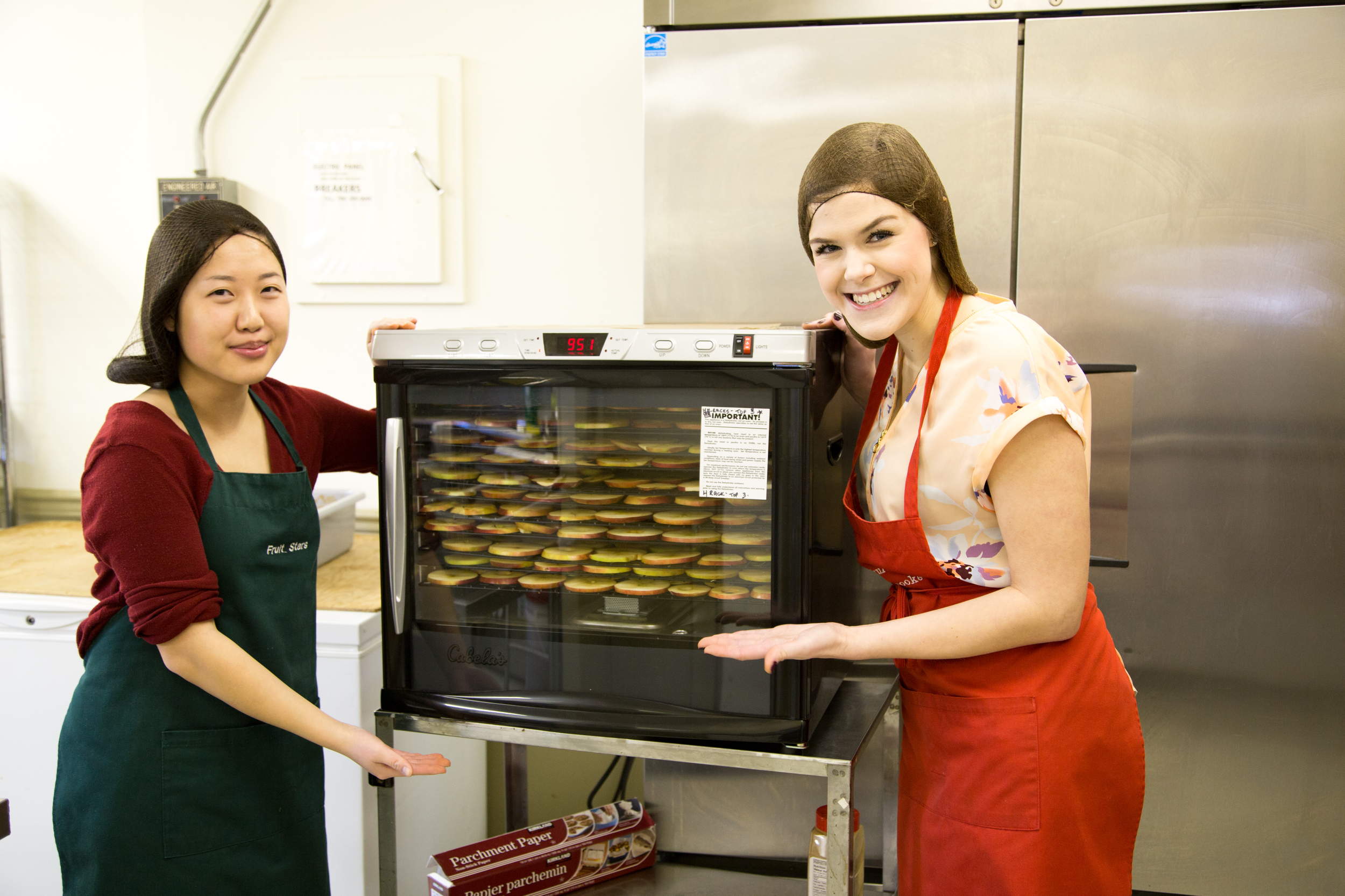 Our Vanna's of the dehydrator!
