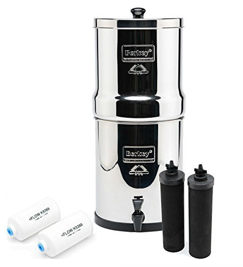 Big Berkey Water Filter - There are SO many horrendous things in our water supply, including fluoride. I feel better knowing my water goes through one of the best filtration systems in the world.