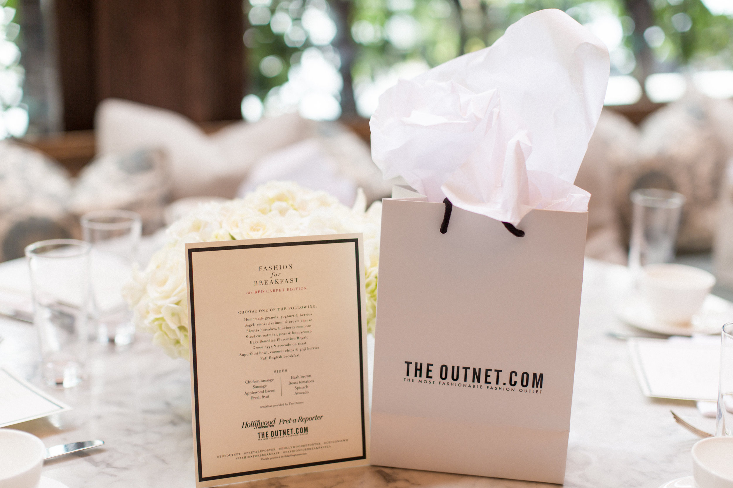 Fashion for Breakfast with The Outnet and THR