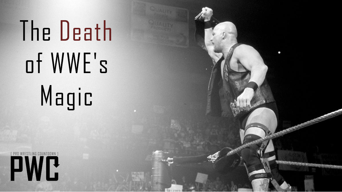 The Death of WWE's Magic