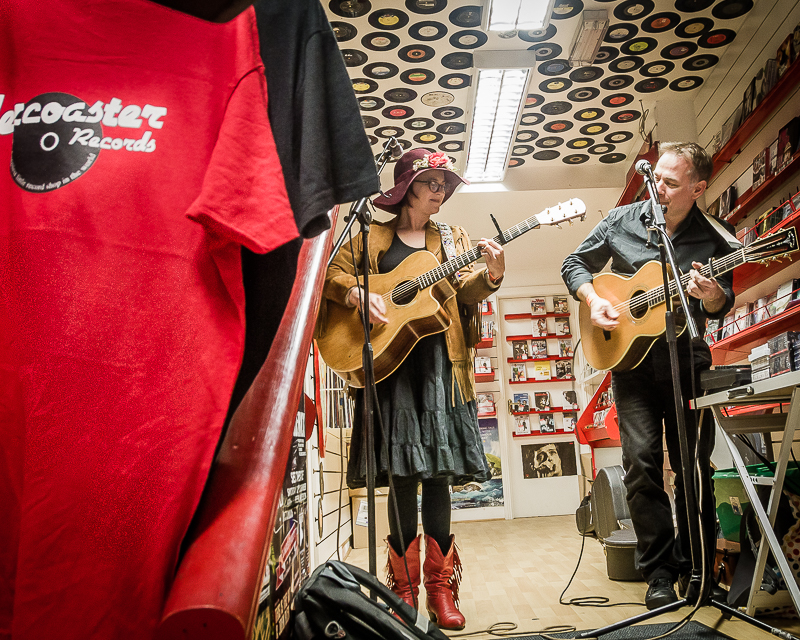 Carter Sampson, Rollercoaster Records in-store gig