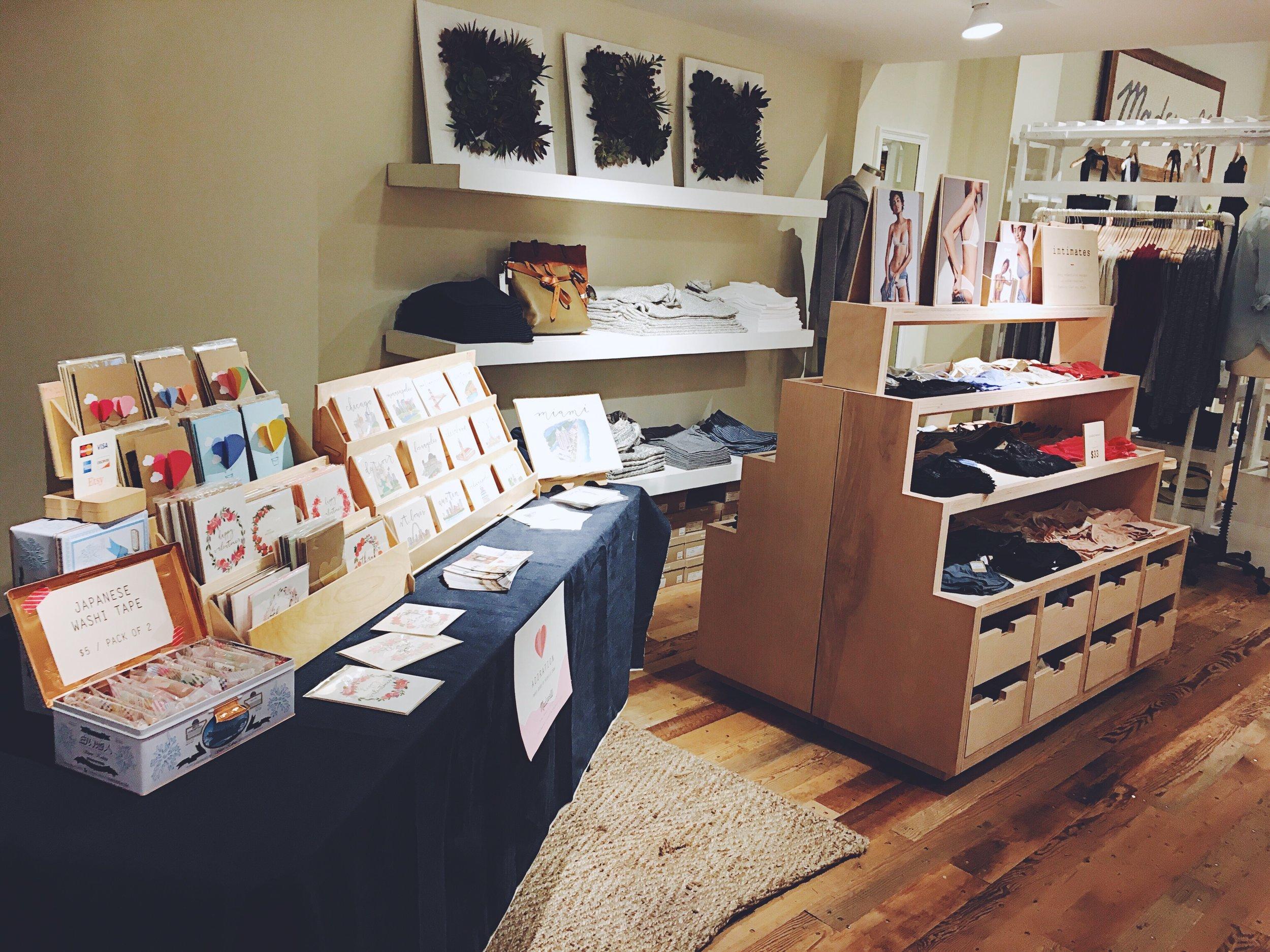 Madewell Pop-up Shop 2017