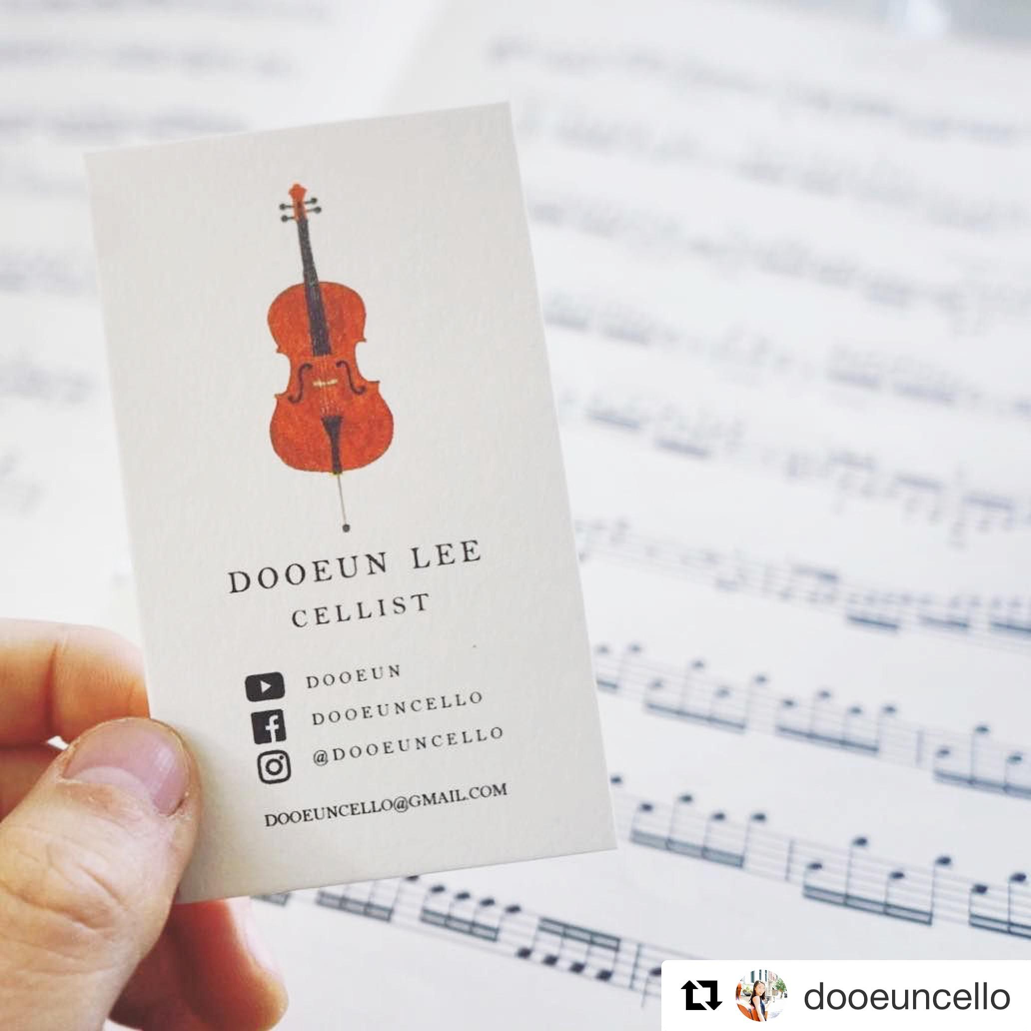 Dooeun Lee  Business Card Design