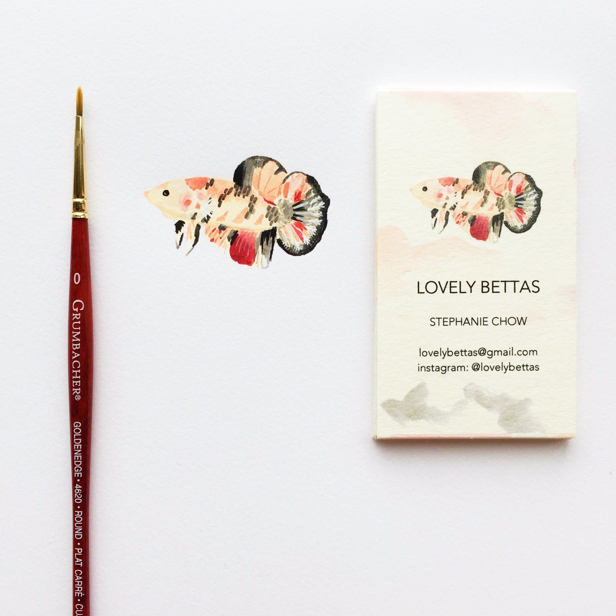 Lovely Bettas Logo Design