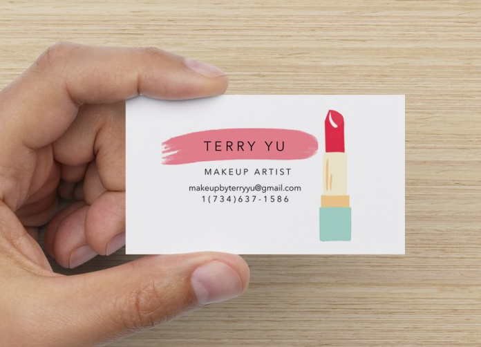 Makeup by Terry Yu Business Card Design