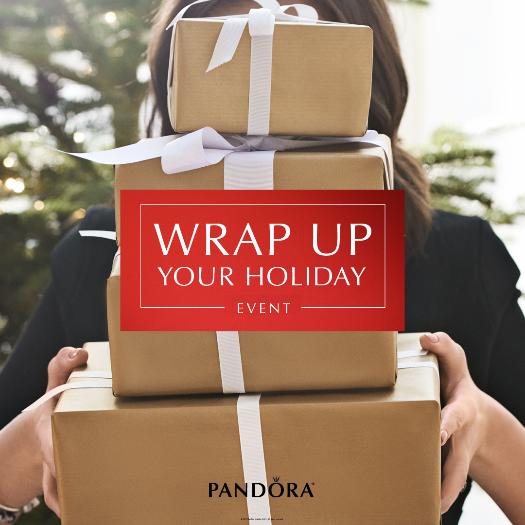 PANDORA Wrap Up Your Holiday Event December 09 2017