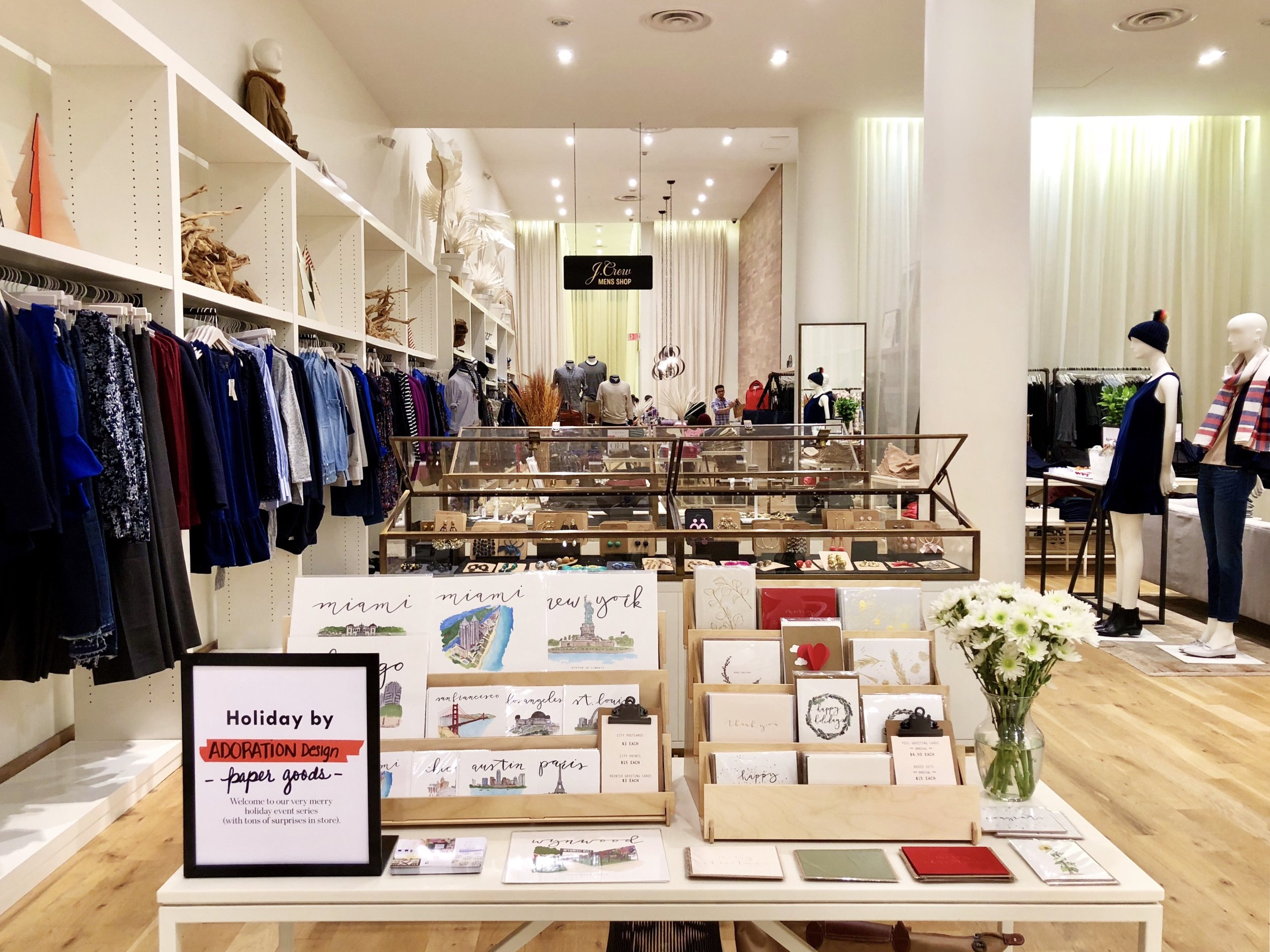J.Crew Local Holiday Artisan Event December 21 2017