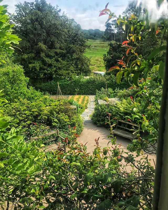 Taken from the window of Hill Top, Beatrix Potter's cottage.