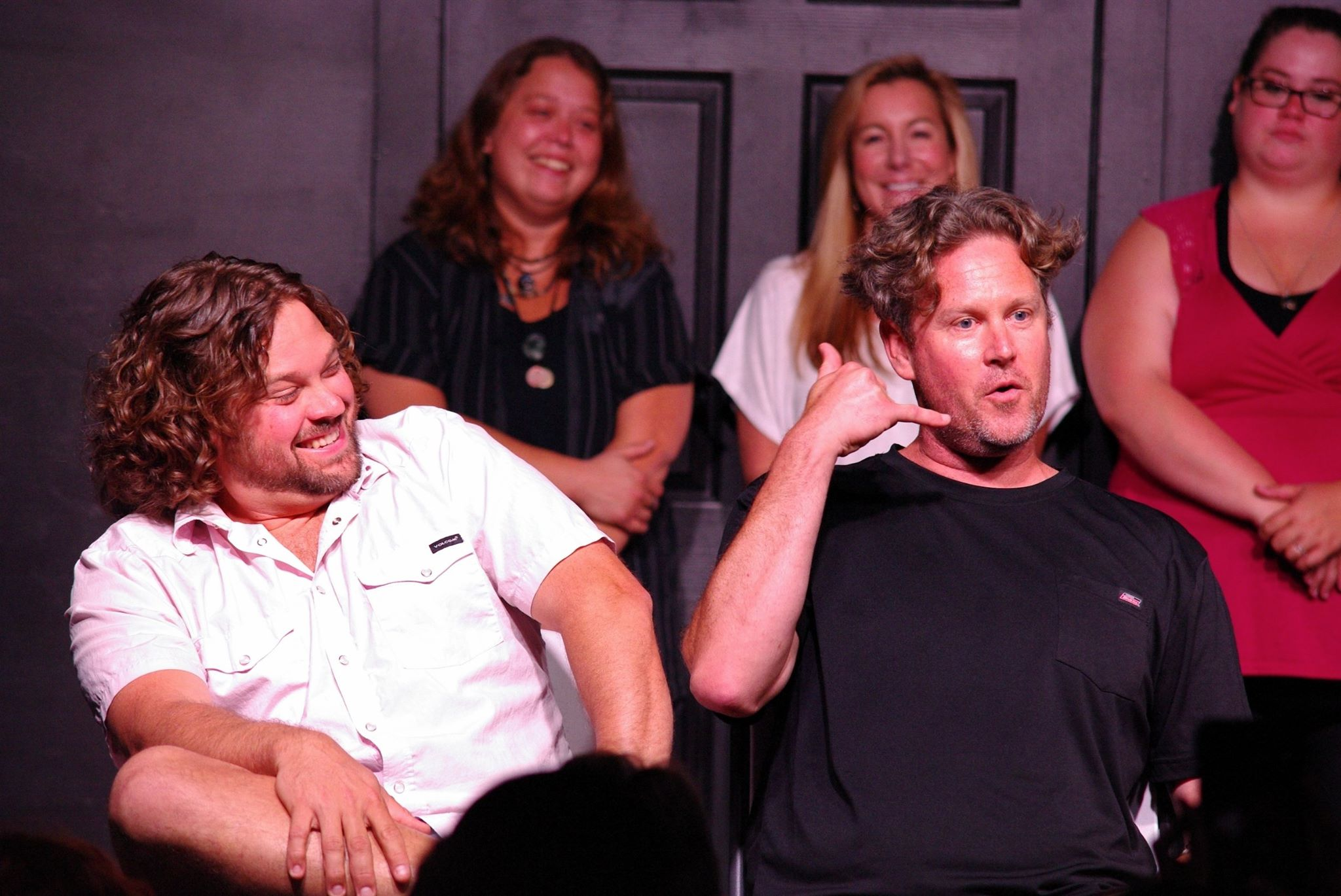 """"""" Push Comedy Theater has def channeled my energy and opened up my thinking."""" John Wharton"""