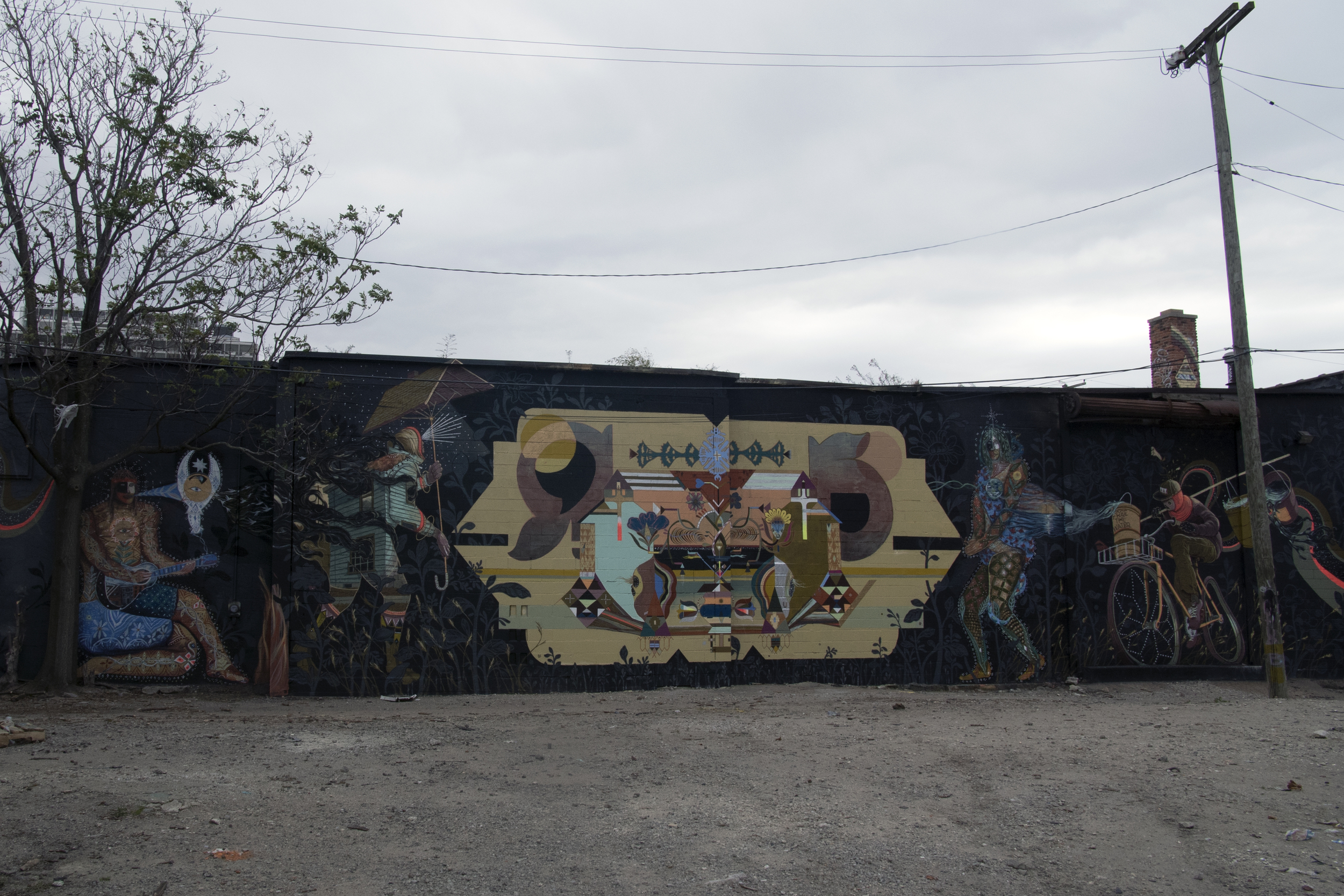 Murals in the Market