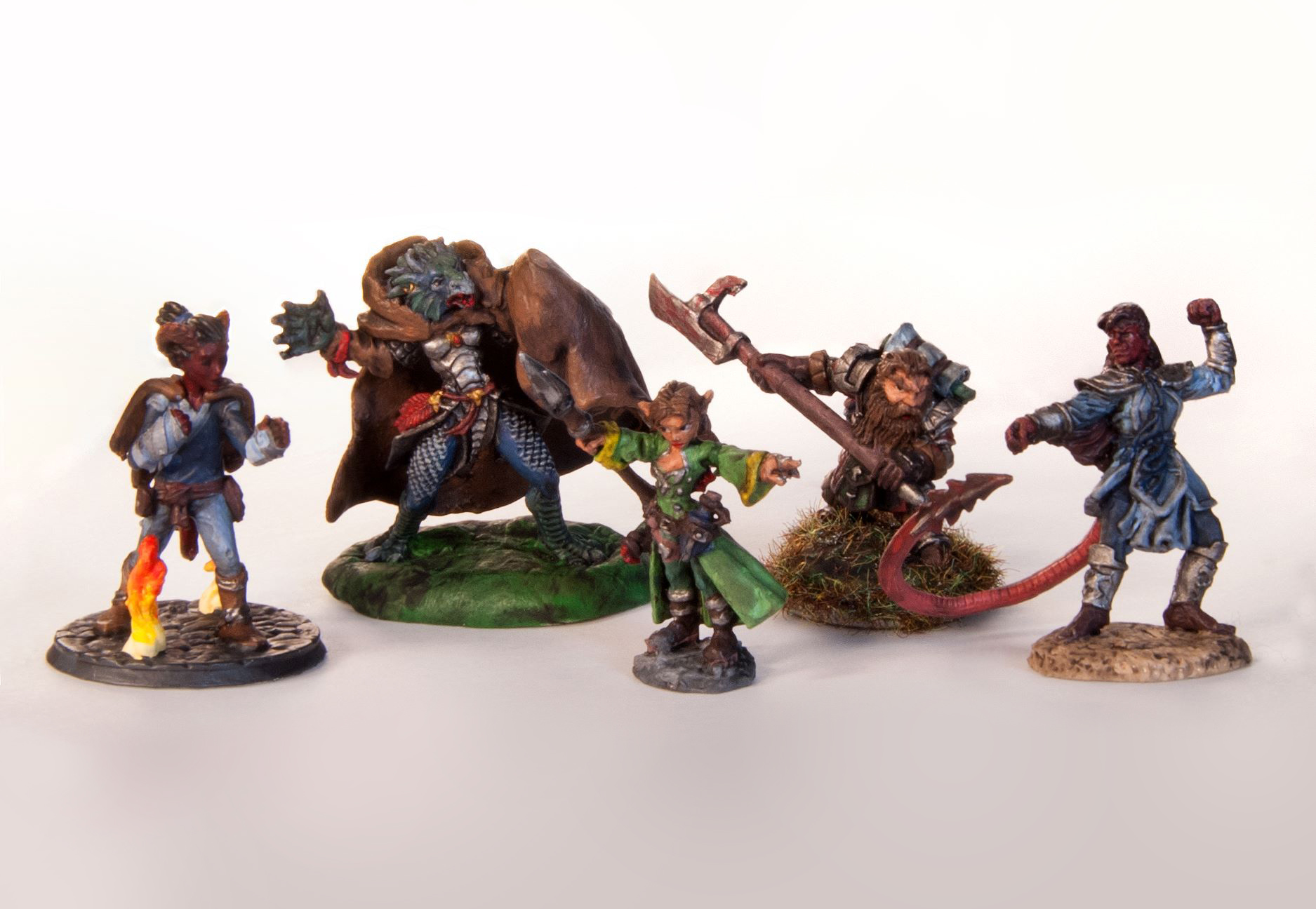 D&D Hand-Painted Miniatures