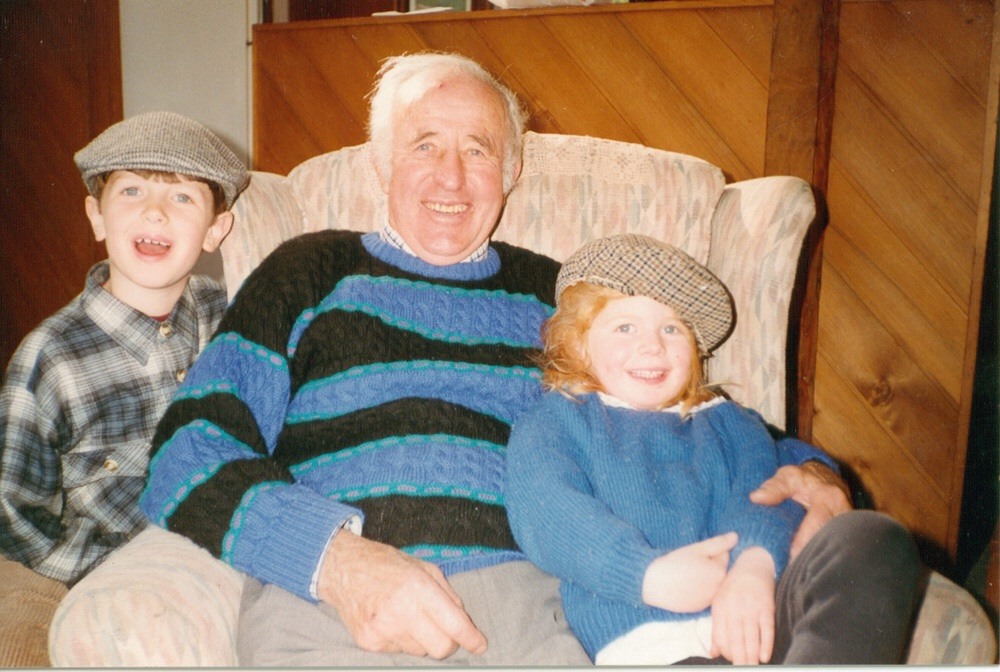 Poppa with Jack and Lily