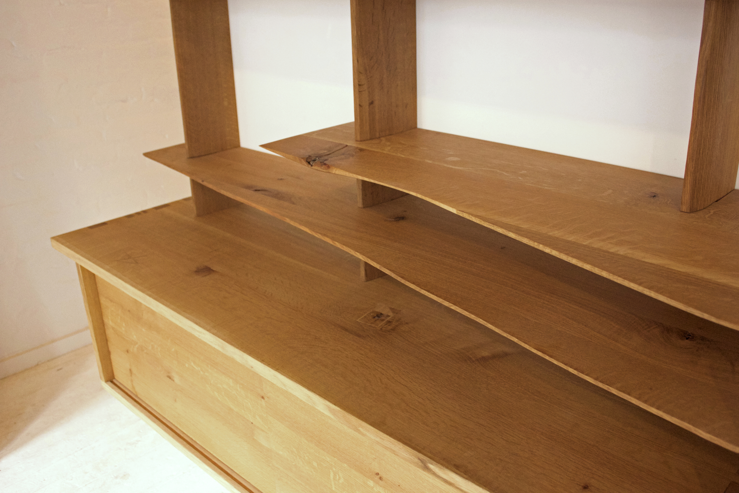 bespoke shelving for private residence