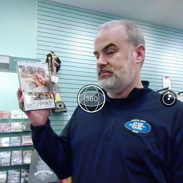 We met up with Alex Kendrick to go and buy a copy of the new Like Arrows in stores. Who wants to win an autographed DVD? Head over to Facebook to watch the 360° video and learn how you can win!!!