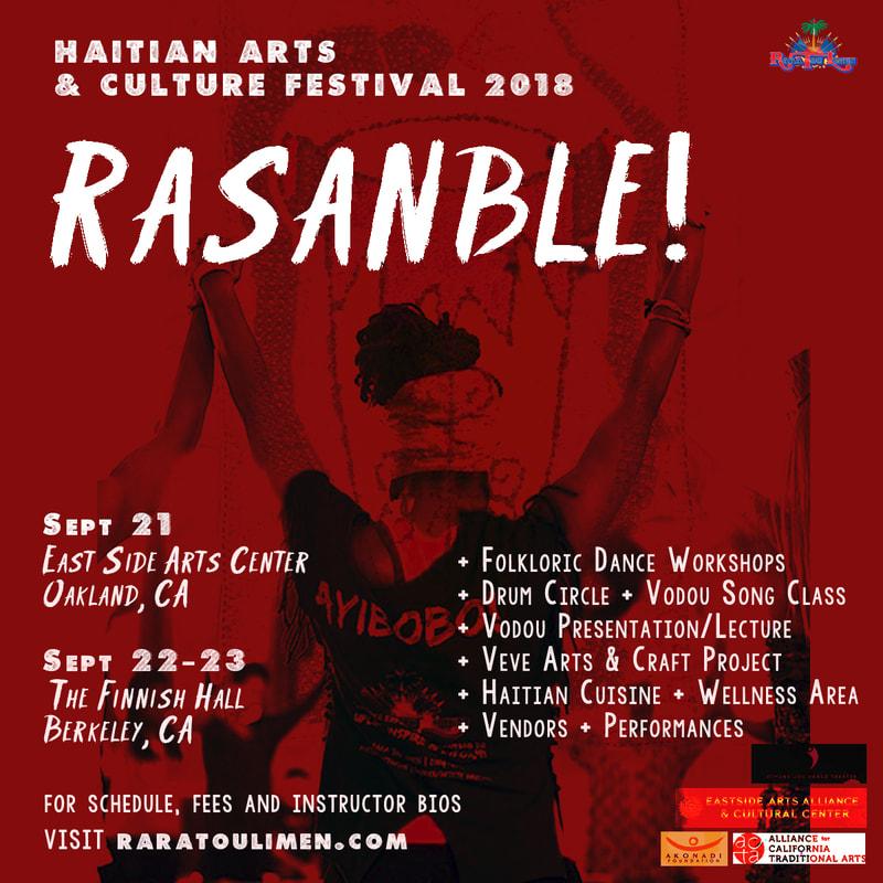 Haitian Arts & Culture Festival 2018               http://www.raratoulimen.com /