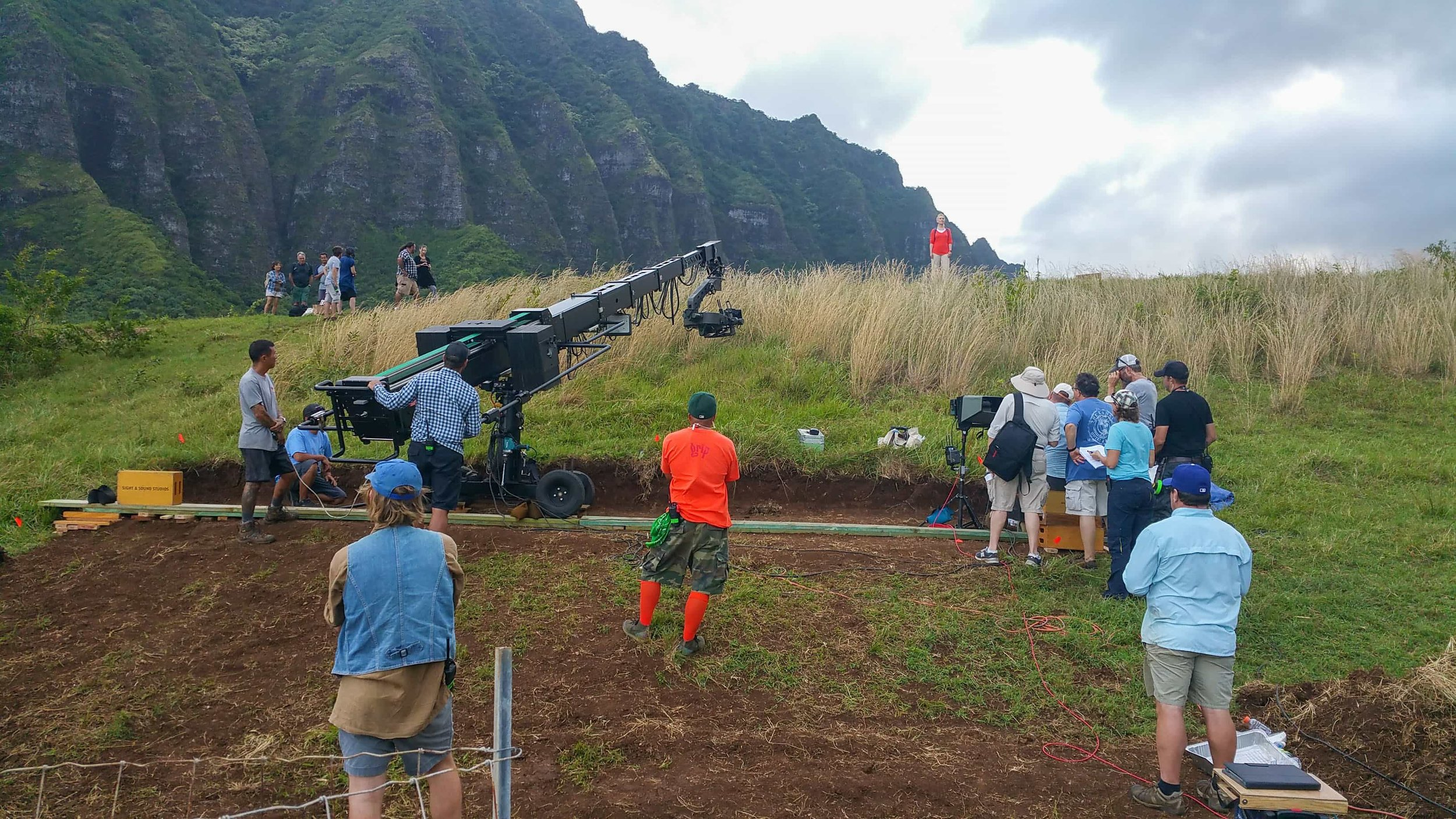 TechnoJib in Kualoa Ranch