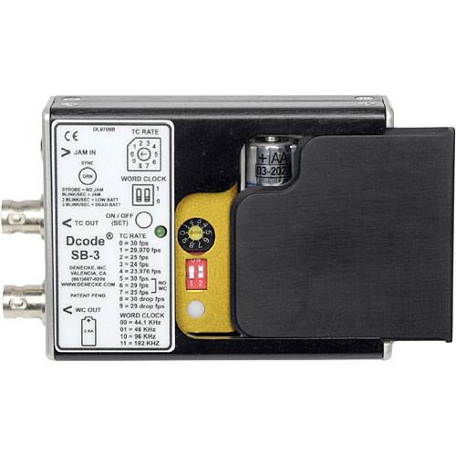 Denecke SB-3 (Lockit Box) Syncbox Time-Code Generator