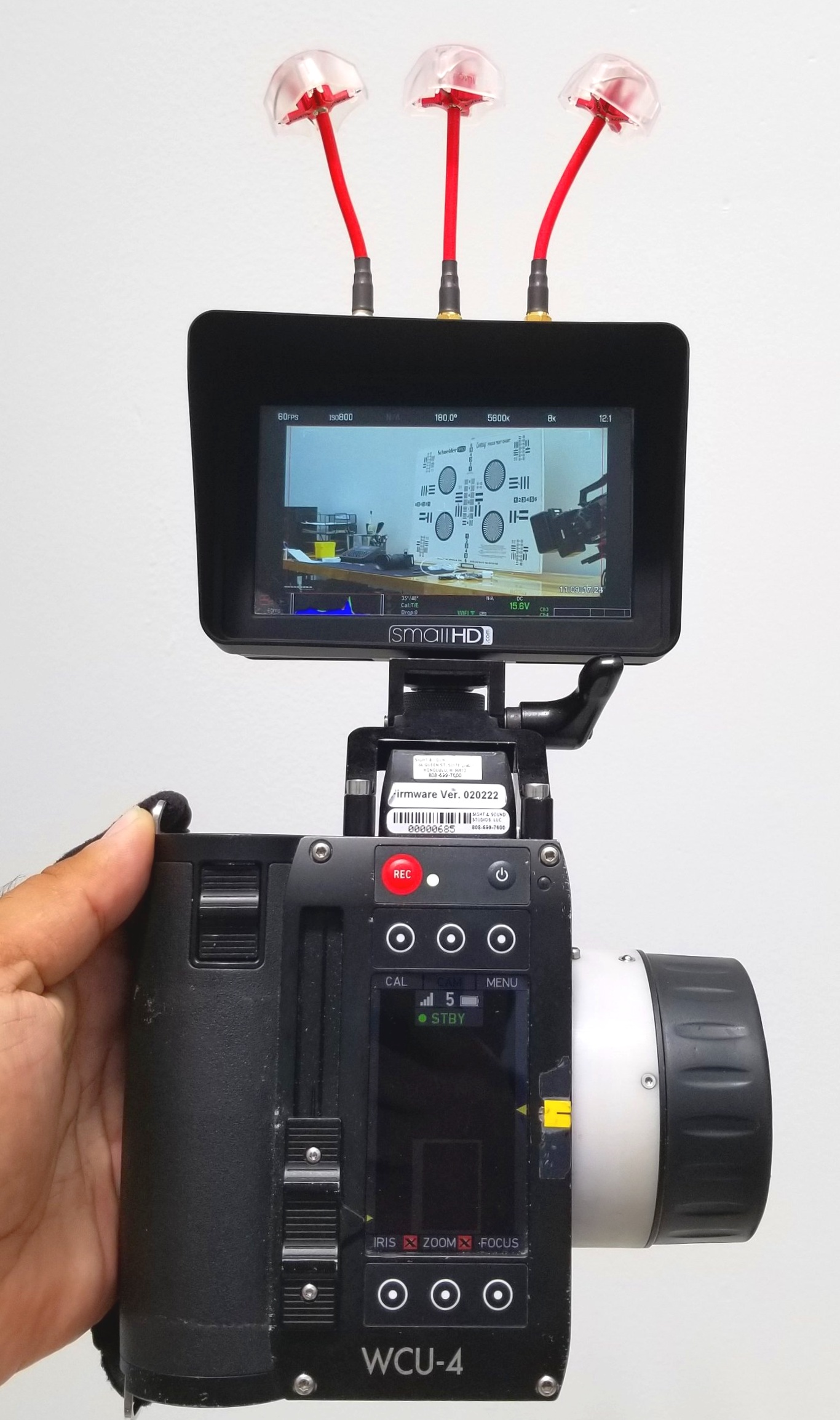 SmallHD Focus Sidekick RX & Arri WCU4